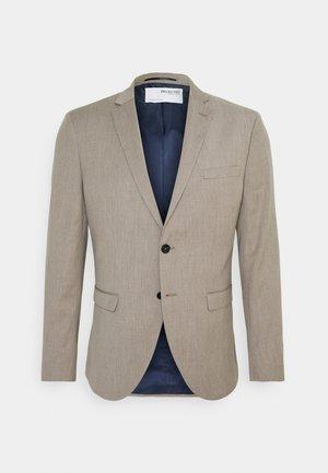SLHSLIM MYLOBILL STRUCTURE  - Blazer jacket - sand