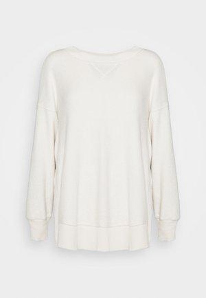 GARDEN CREW - Fleece jumper - natural
