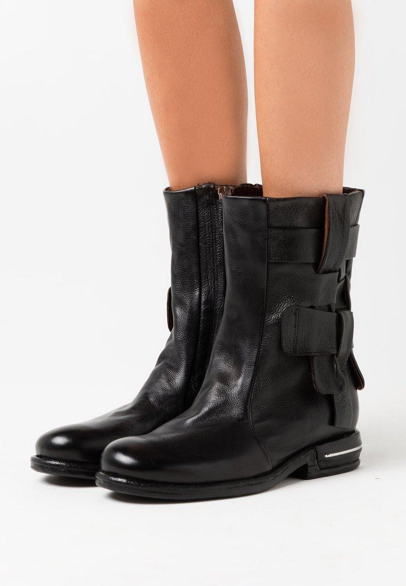 A.S.98 - Cowboy/Biker boots - nero