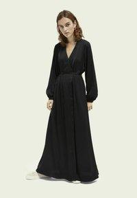 Scotch & Soda - Maxi dress - black - 1