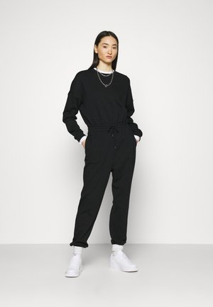 SWEAT - Oversized comfy - Jumpsuit - black