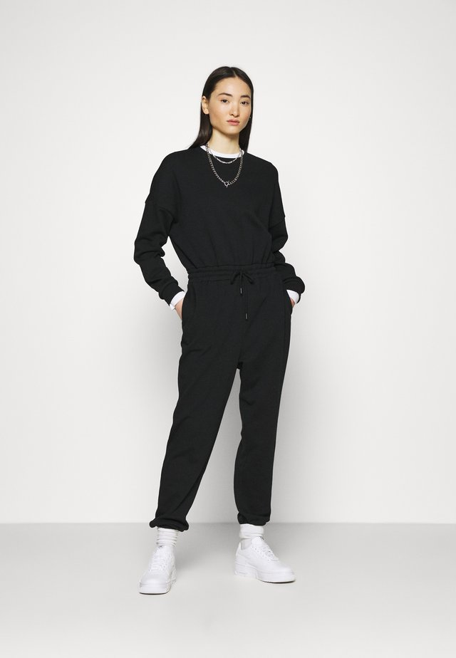SWEAT - Oversized comfy - Overal - black
