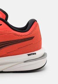 Puma - VELOCITY NITRO - Neutral running shoes - lava blast/black/silver - 6