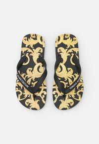 Versace Jeans Couture - T-bar sandals - black - 4