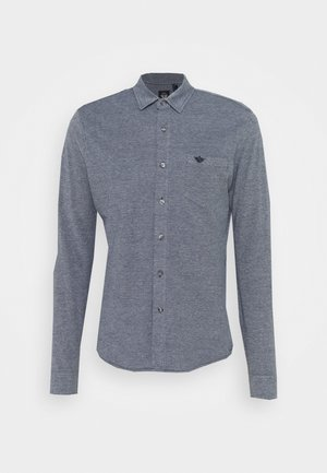 ALPHA BUTTON UP - Shirt - blue