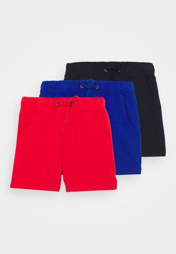 SMALL BOYS 3 PACK - Shorts - blue/red