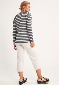 comma casual identity - Long sleeved top - black stripes - 2