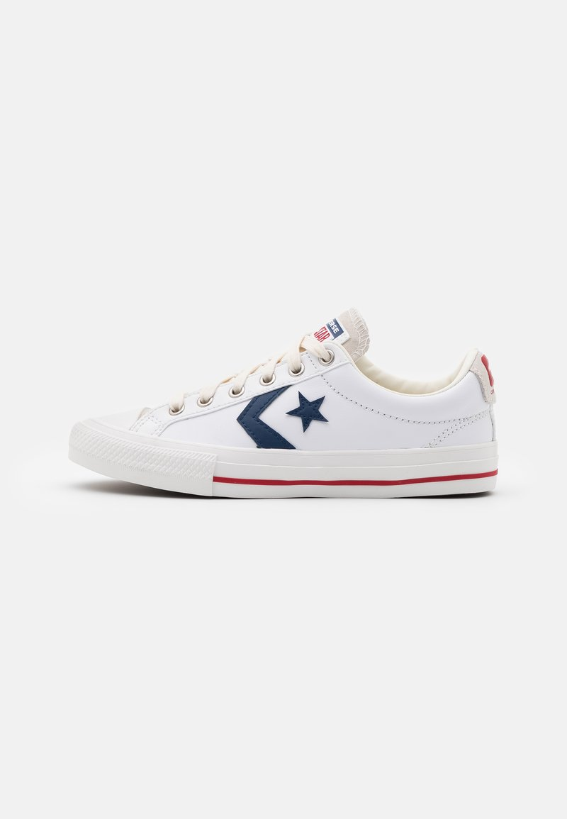 Converse - STAR PLAYER UNISEX - Baskets basses - white/navy/gym red
