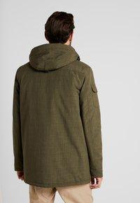 Hi-Tec - HERSHEL - Zimní kabát - olive night - 3