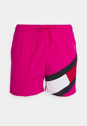 SOLID FLAG DRAWSTRING - Shorts da mare - pink
