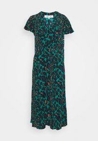 Diane von Furstenberg - CECILIA MIDI - Vapaa-ajan mekko - emerald - 6