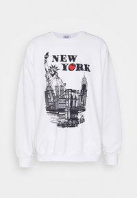 Vintage Supply - WITH NEW YORK TOURIST GRAPHIC UNISEX - Bluza - ash grey - 0