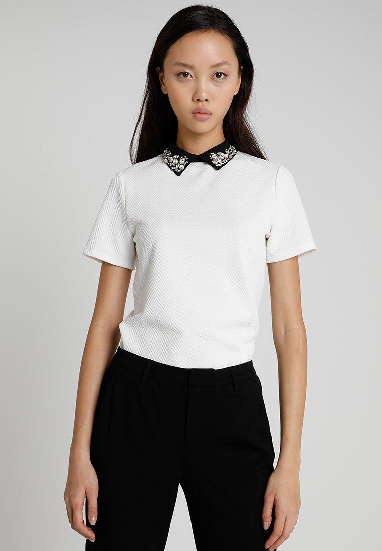 Morgan - Print T-shirt - off white