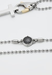 Diesel - SINGLE PENDANT - Necklace - gold-coloured/silver-coloured - 2