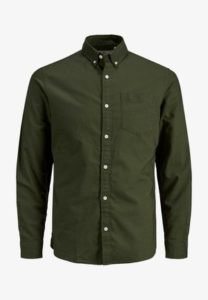 BASIC OXFORD  - Shirt - olive night