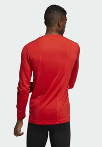 adidas Performance - TECHFIT COMPRESSION LONG-SLEEVE TOP - T-shirt à manches longues - red - 1