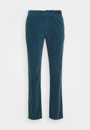 DENTON CORDUROY PANT - Trousers - blue