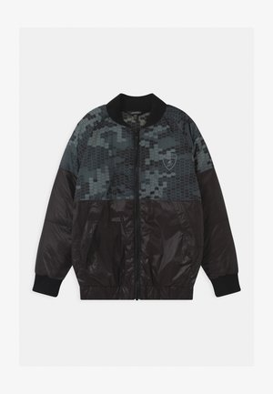 HEXAGON CAMOUFLAGE  - Winterjas - black pegaso