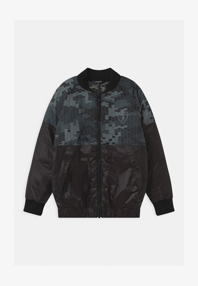 HEXAGON CAMOUFLAGE  - Winter jacket - black pegaso