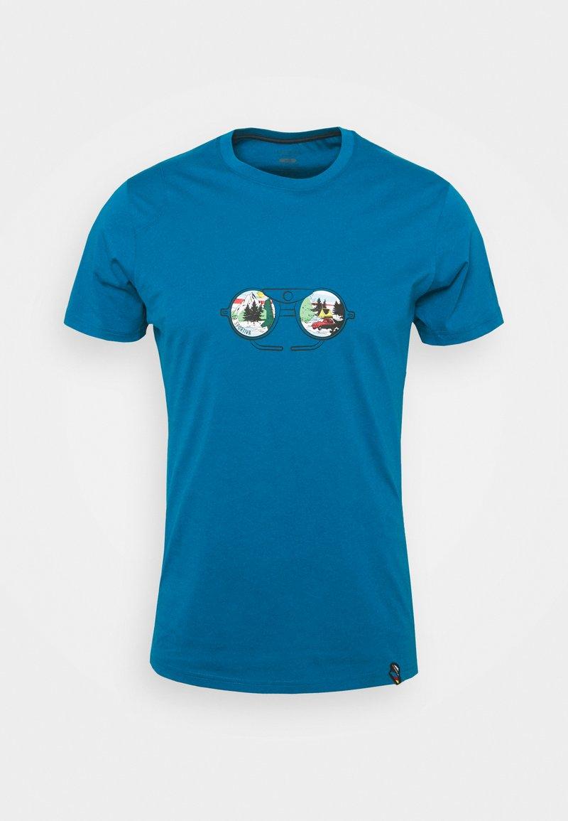 La Sportiva - VIEW - Print T-shirt - neptune