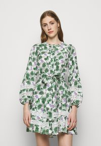 maje - ROMAN - Cocktail dress / Party dress - végétal écru vert - 0