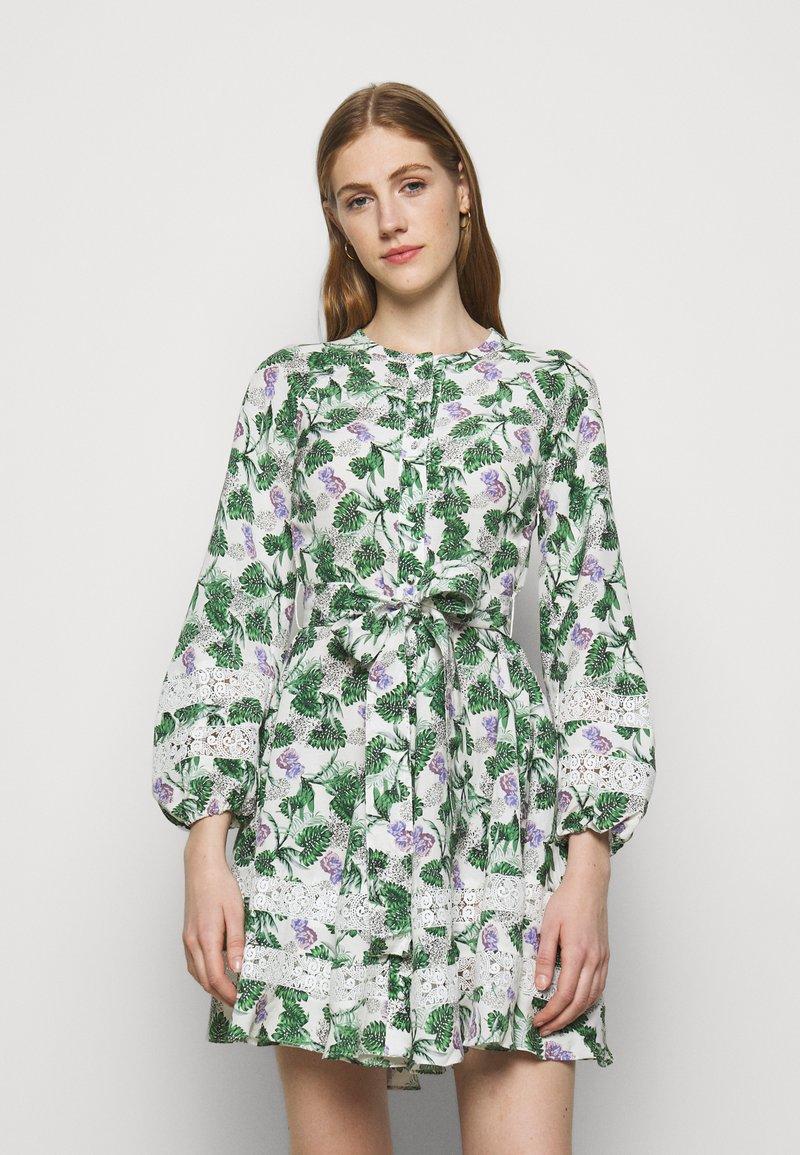 maje - ROMAN - Cocktail dress / Party dress - végétal écru vert