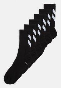 CHEVRON 6 PACK UNISEX  - Sportovní ponožky - black