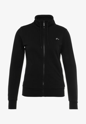 ONPELINA HIGH NECK - Zip-up hoodie - black