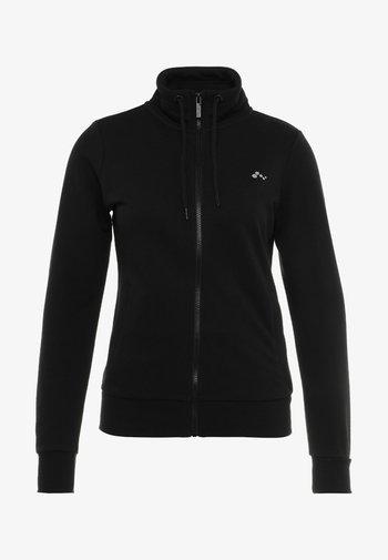 ONPELINA HIGH NECK - Felpa con zip - black