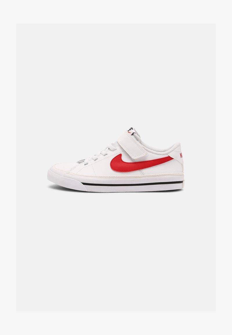 Nike Sportswear - COURT LEGACY  - Baskets basses - white/red/black