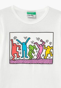 Benetton - KEITH KISS GIRL - Longsleeve - white - 3