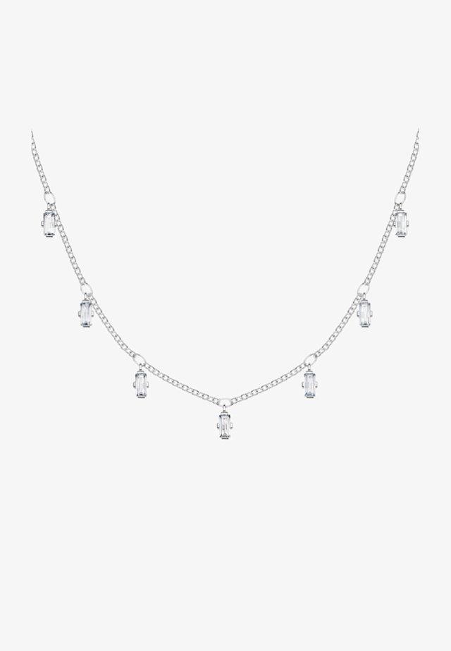 BAGUETTE FORM - Necklace - silver-coloured