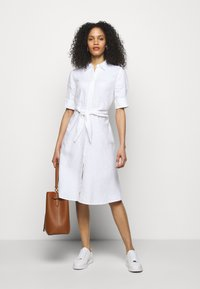 Lauren Ralph Lauren - CLASSIC DRESS - Shirt dress - white - 1