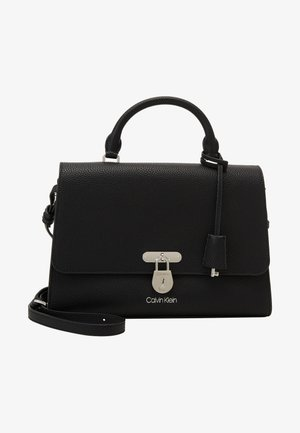 DRESSED BUSINESS TOP HANDLE - Handbag - black