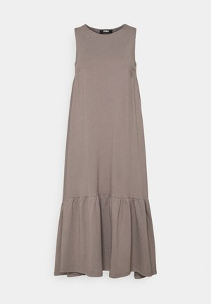 Vestido largo - dark grey