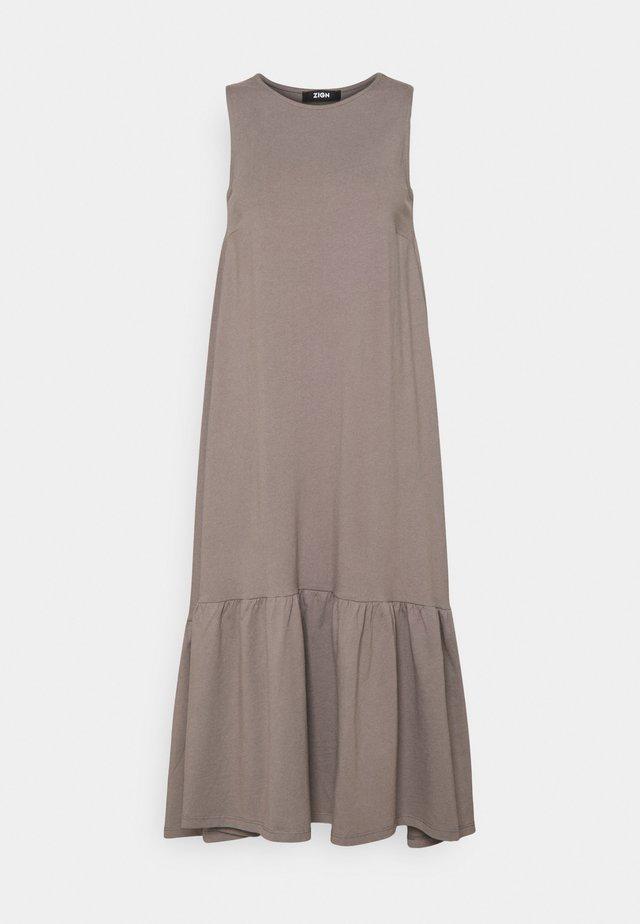 Vestido largo - dark grey