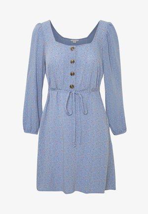 PLACKET - Day dress - blue