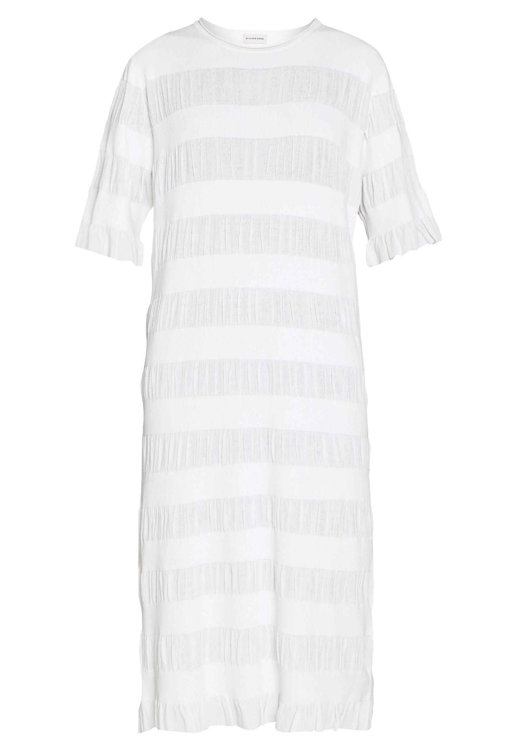 malene birger vit klänning