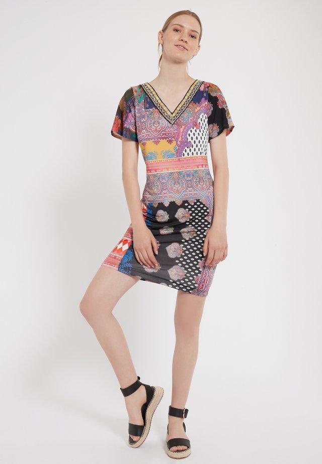 ZIOLY - Korte jurk - multi-coloured