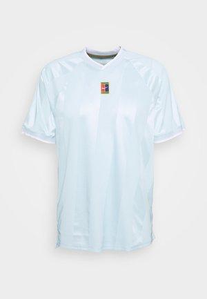 SLAM - Print T-shirt - topaz mist/white