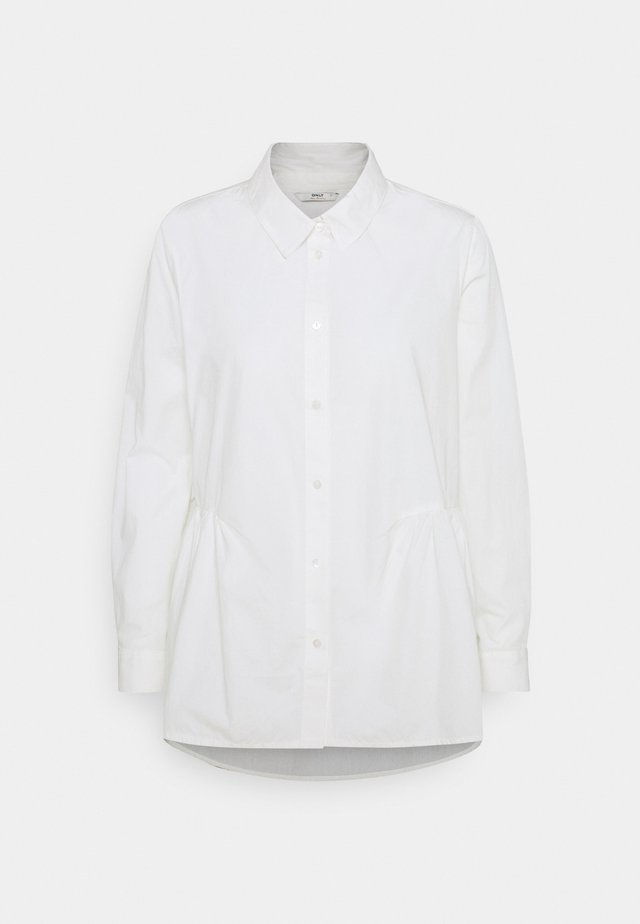 ONLNEW CANBERRA LIFE  - Button-down blouse - cloud dancer