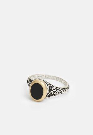 Prsten - silver-coloured/black