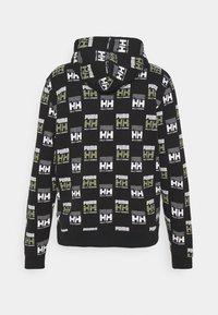 Puma - PUMA X HELLY HANSEN HOODIE - Hoodie - black - 1