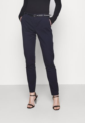 VMFLASH BELT COLOR PANT - Trousers - night sky