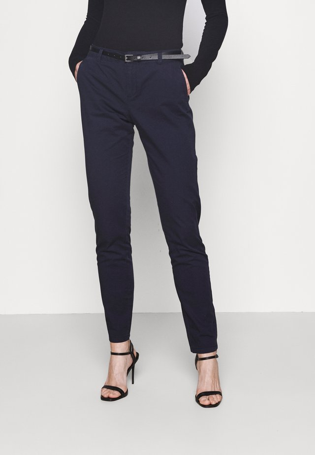 VMFLASH BELT COLOR PANT - Pantaloni - night sky