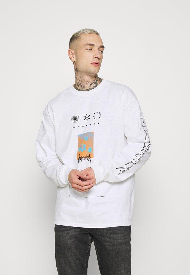 UNISEX SYMBOL - T-shirt à manches longues - white