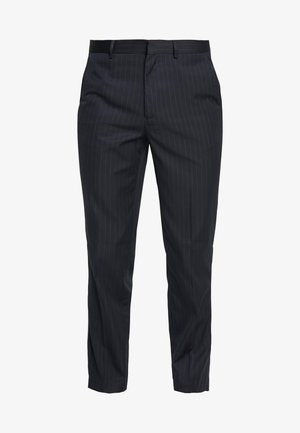 PINSTRIPE - Trousers - navy