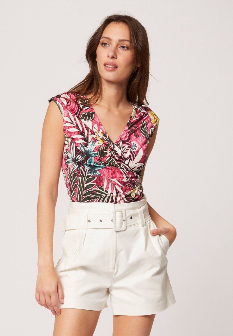 Morgan - Print T-shirt - neon pink