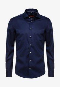 Seidensticker - SLIM SPREAD KENT PATCH - Formal shirt - dunkelblau - 4