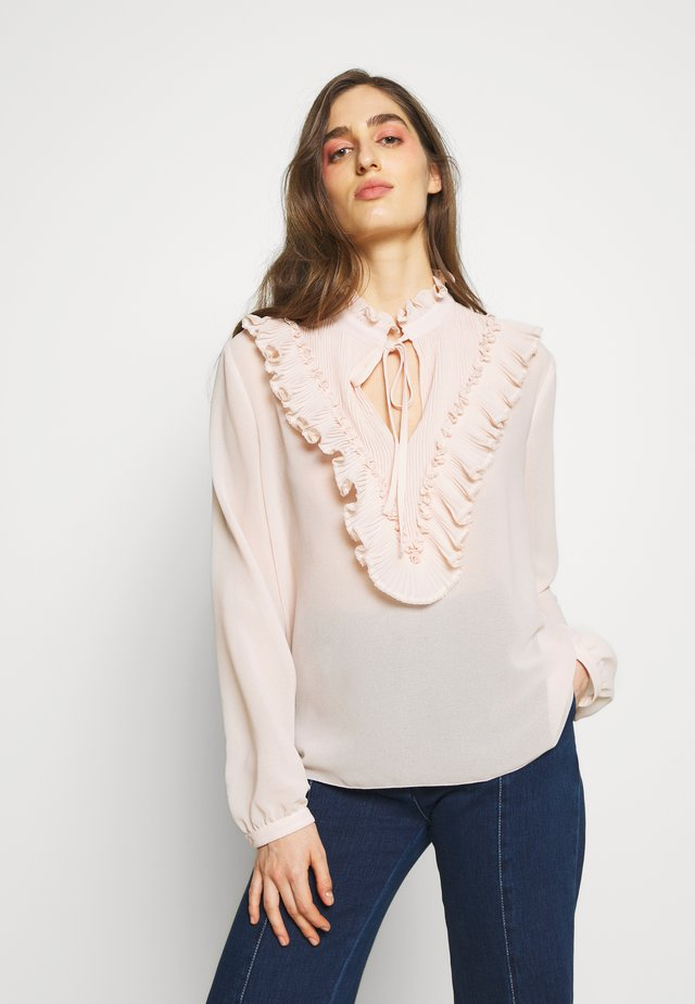 Blouse - pink sand